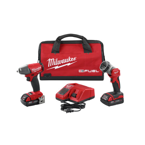 Milwaukee 2895-22CT M18 FUEL 3/8 in. Compact Impact Wrench