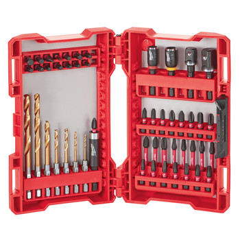 Milwaukee 48-32-4013 50 Pc SHOCKWAVE Impact Duty Driver Bit Set image number 1