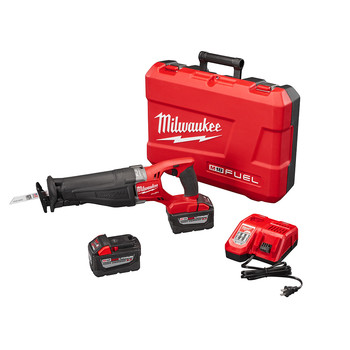Milwaukee 2720-22HD M18 FUEL SAWZALL Reciprocating Saw Kit image number 0