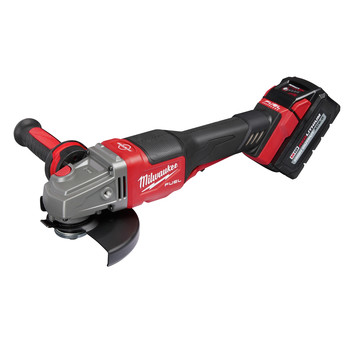 Milwaukee 2980-21 M18 FUEL 4-1/2 in. - 6 in. Braking Grinder Kit with No-Lock Paddle Switch & (1) 6 Ah Li-Ion Battery image number 4