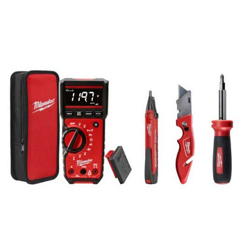 Milwaukee 2220-20 Electrical Test and Measurement Combo Kit image number 0