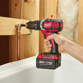 Factory Reconditioned Milwaukee 2607-82 M18 Lithium-Ion XC 1/2 in. Cordless Hammer Drill Driver Kit (3 Ah) image number 10