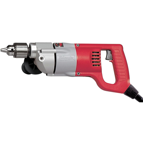 Milwaukee 1107-6 1/2 in. D-Handle Drill, 0 - 500 RPM