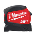 Milwaukee 48-22-0425 25 ft. Compact Wide Blade Tape Measure image number 0