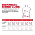 Milwaukee 602BL-XL Heavy Duty Long Sleeve Pocket Tee Shirt - Navy Blue, X-Large image number 4