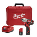 Milwaukee 2462-22 M12 12V Cordless Lithium-Ion 1/4 in. Hex Impact Driver Kit