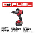 Milwaukee 2998-23 M18 FUEL Brushless Lithium-Ion Cordless 3-Tool Combo Kit (5 Ah) image number 4