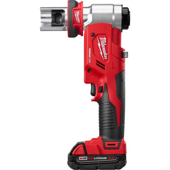 Milwaukee 2677-21 M18 Force Logic Cordless Lithium-Ion 6T 1/2 in. - 2 in. Knockout Tool Kit image number 1