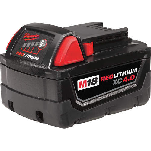 Milwaukee 48-11-1840 M18 REDLITHIUM XC4.0 Battery Pack
