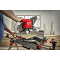 Milwaukee 2739-20 M18 FUEL Cordless Lithium-Ion 12 in. Dual Bevel Sliding Compound Miter Saw (Tool Only) image number 4