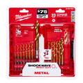 Milwaukee 48-89-4631 23-Piece Titanium SHOCKWAVE Bit Set image number 2