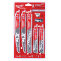 Milwaukee 49-22-5505 5-Piece Carbide Teeth SAWZALL Blade Set