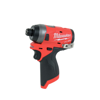 Milwaukee 2598-22 M12 FUEL 2-Tool Combo Kit: 1/2 in. Hammer Drill and 1/4 in. Hex Impact Driver image number 2