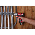 Milwaukee 2462-20 M12 12V Cordless Lithium-Ion 1/4 in. Hex Impact Driver (Tool Only) image number 3