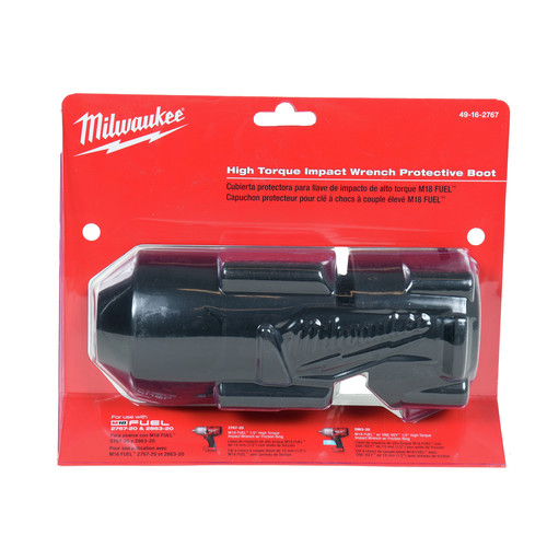 Milwaukee 49-16-2767 M18 FUEL 1/2 in. High Torque Impact Wrench Tool Boot for 2767-20 & 2863-20 image number 0