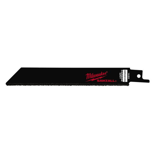 Milwaukee 48-00-1420 6 in. Carbide Grit Sawzall Blades (3-Pack)