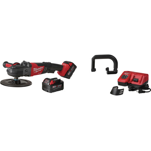 Milwaukee 2738-22 M18 FUEL Lithium-Ion 7 in. Variable Speed Polisher Kit