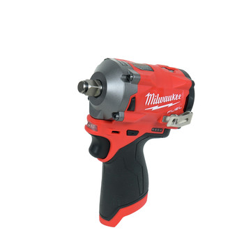 Milwaukee 2555-22 M12 FUEL Stubby 1/2 in. Impact Wrench with Friction Ring Kit image number 1