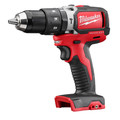 Factory Reconditioned Milwaukee 2702-80 M18 Lithium-Ion Brushless Compact 1/2 in. Cordless Hammer Drill Driver (Tool Only) image number 1