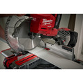 Milwaukee 2734-21HD M18 FUEL 9.0 Ah Cordless Lithium-Ion 10 in. Dual Bevel Sliding Compound Miter Saw image number 2