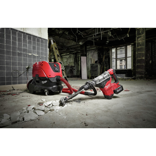 Milwaukee 2718-22HD M18 FUEL 1-3/4 in. SDS MAX Rotary Hammer with ONE KEY and (2) 12 Ah Batteries image number 11