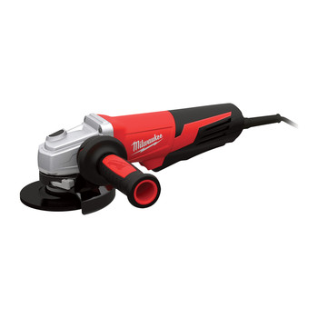 Milwaukee 6117-30 5 in. 13 Amp Paddle Switch Small Angle Grinder with Lock-On Button image number 0