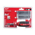 Milwaukee 48-22-2136 9-in-1 Metric HEX/KEY Drive Multi-bit Driver image number 4
