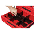 Milwaukee 48-22-8443 PACKOUT 50 lbs. Capacity 3-Drawer Tool Box image number 4