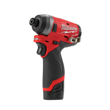 Milwaukee 2553-22 M12 FUEL 1/4 in. Hex Impact Driver Kit image number 2