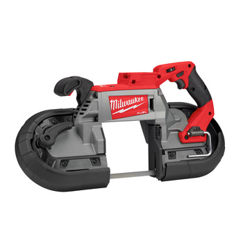 Milwaukee 2729S-20 M18 FUEL Cordless Lithium-Ion Deep Cut Dual-Trigger Band Saw (Tool Only)