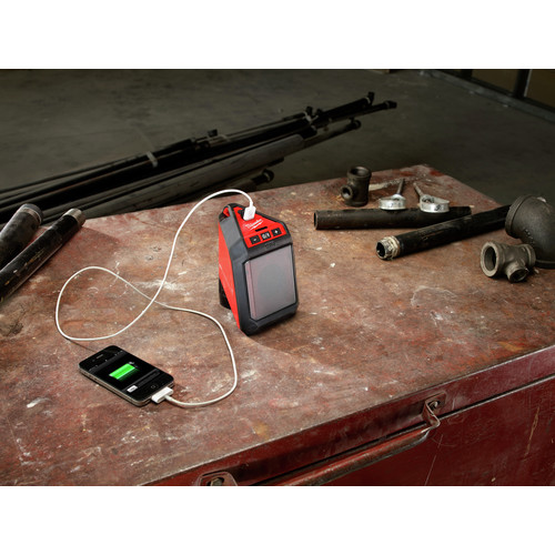 Milwaukee 2592-21 M12 12V Wireless Jobsite Speaker Kit with Battery and Charger image number 9