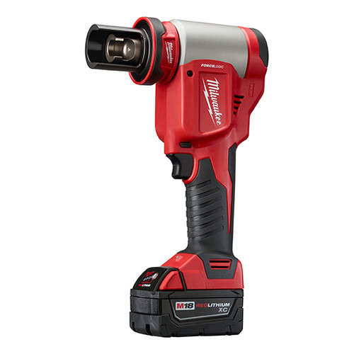 Milwaukee 2676-20 M18 FORCE LOGIC Cordless Lithium-Ion High Capacity Knockout Kit image number 1