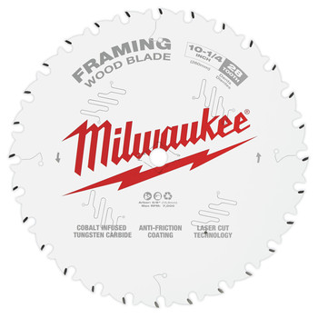Milwaukee 48-40-1038 10-1/4 in. 28T Framing Circular Saw Blade