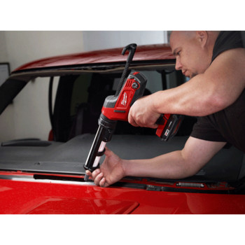 Milwaukee 2641-20 M18 18V Cordless Lithium-Ion Caulk/Adhesive Gun with 10 oz. Carriage (Tool Only) image number 2