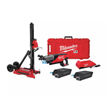 Milwaukee MXF301-2CXS MX FUEL Lithium-Ion Handheld Core Drill Kit with Stand