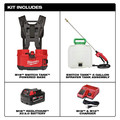 Milwaukee 2820-21PS M18 SWITCH TANK 4-Gallon Backpack Sprayer Kit image number 1