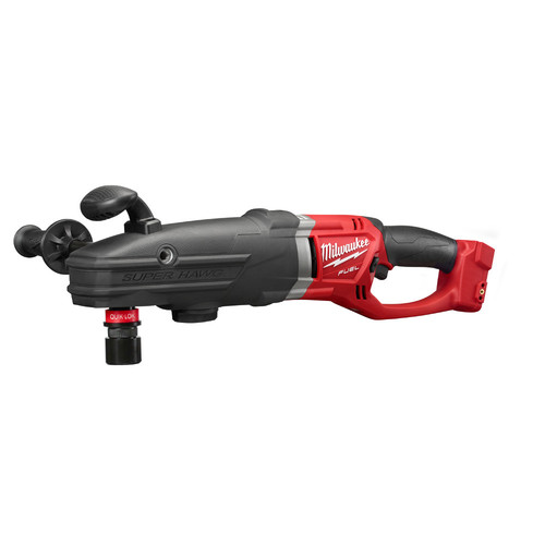 Factory Reconditioned Milwaukee 2711-80 M18 FUEL SUPER HAWG Lithium-Ion Brushless 1/2 in. Cordless Right Angle Drill with QUIK-LOK (Tool Only) image number 0