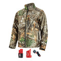 Milwaukee 222C-21S M12 12V Li-Ion Heated QuietShell Jacket Kit - Small