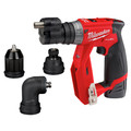 Milwaukee 2505-22 M12 FUEL Lithium-Ion 3/8 in. Cordless Installation Drill Driver Kit (2 Ah) image number 14
