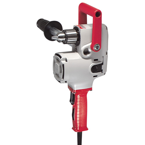 Factory Reconditioned Milwaukee 1676-8 1/2 in. 300/1,200 RPM Hole-Hawg Two-Speed Drill with Case