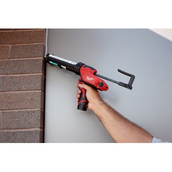 Milwaukee 2441-20 M12 12V Cordless Lithium-Ion 10 oz. Caulk and Adhesive Gun (Tool Only) image number 2