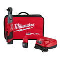 Milwaukee 2558-22 M12 FUEL 1/2 in. Ratchet 2 Battery Kit image number 0