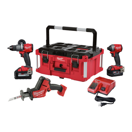 MILWAUKEE 2997-23PO M18 FUEL HD/IMP/HKZW PACKOUT KIT (MILWAUKEE SPECIAL ONLY WHILE SUPPLIES LAST) MC390769