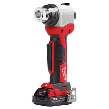 Milwaukee 2935CU-21 M18 Cordless Lithium-Ion Cable Stripper Kit for Copper THHN / XHHW (1.5 Ah) image number 1
