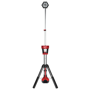 Milwaukee 2130-20P M18 18V 5.0 Ah Cordless Lithium-Ion TRUEVIEW Rocket LED Tower Stand Light Kit with FREE 18V 5.0 Ah Starter Kit image number 1