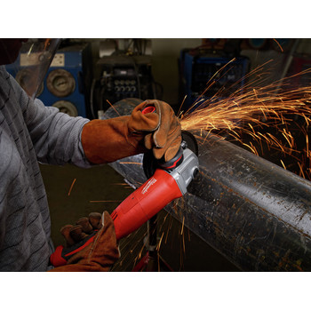 Milwaukee 6124-30 5 in. 13 Amp Trigger Switch Small Angle Grinder with Lock-On Button image number 1