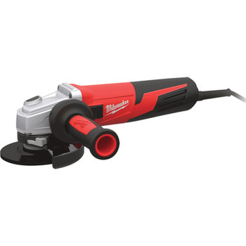 Factory Reconditioned Milwaukee 6117-833 5 in. 13 Amp Slide Switch Small Angle Grinder with Lock-On Button image number 0