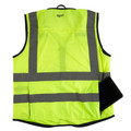 Milwaukee 48-73-5041 High Visibility Performance Safety Vest - Small/Medium, Yellow image number 1