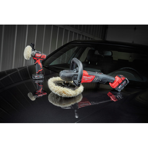 Milwaukee 2738-22 M18 FUEL Lithium-Ion 7 in. Variable Speed Polisher Kit image number 9
