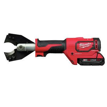 Milwaukee 2672-21F M18 FORCE LOGIC Cordless Cable Cutter Kit with Fine Stranded Wire Jaw image number 2